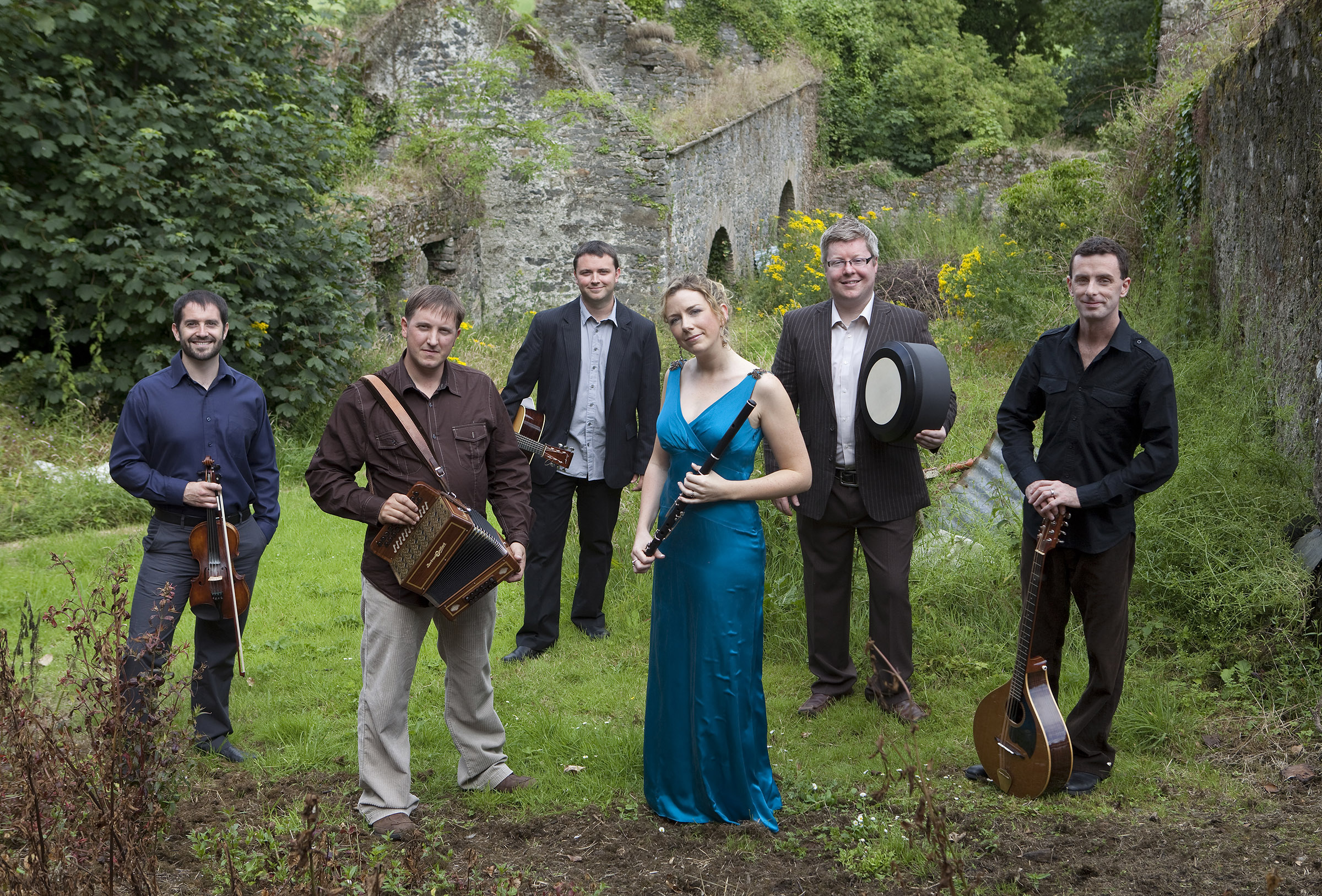 """Danu, a high-spirited Celtic group from Ireland, will perform """"A Christmas Gathering"""" on December 11."""