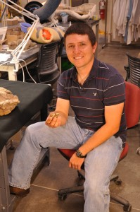 Joshua Lively studied the new fossil turtle as part of his master's thesis at the University of Utah. He is now a doctoral student at the University of Texas at Austin.