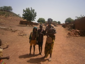 Villagers near Boromo, Burkina Faso in West Africa