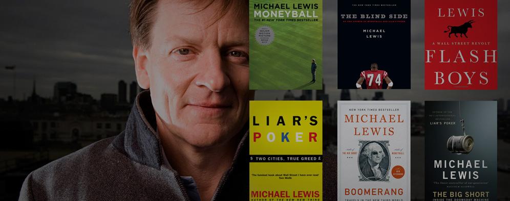 Author Michael Lewis