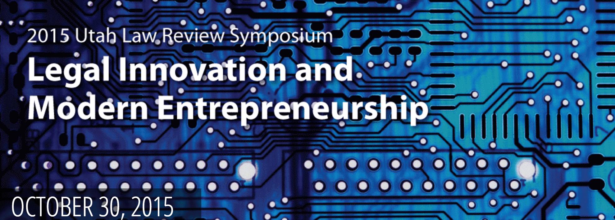 Legal Innovation and Modern Entrepreneurship
