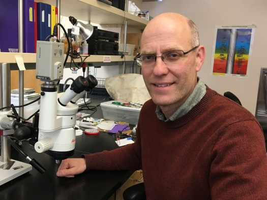 University of Utah biology professor Neil Vickers.