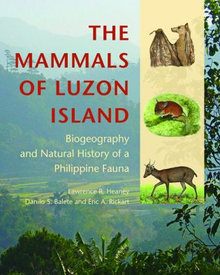 Cover art for The Mammals of Luzon Island.