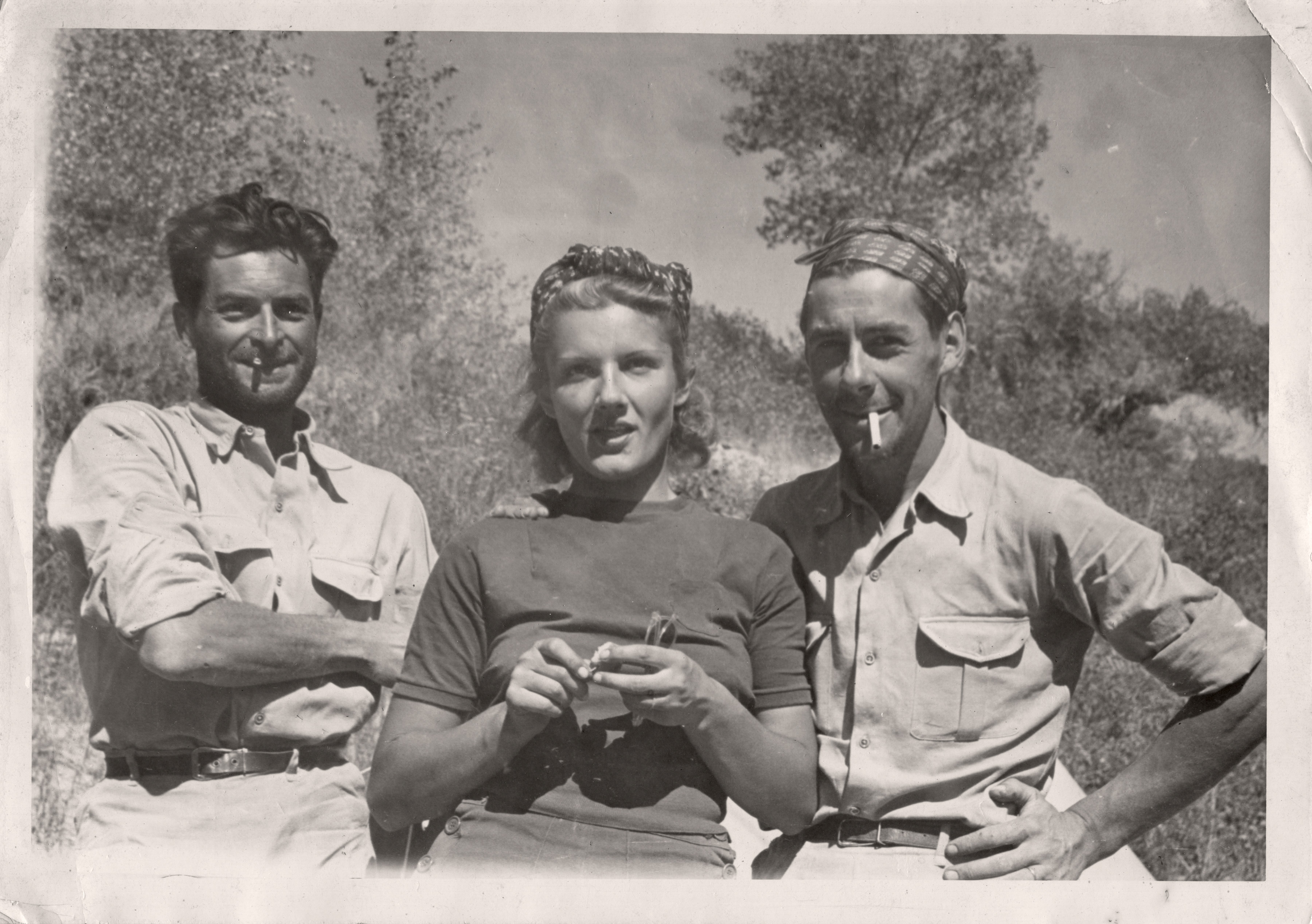 The three Parisians who kayaked down the Green and Colorado rivers in 1938 and filmed their adventure.