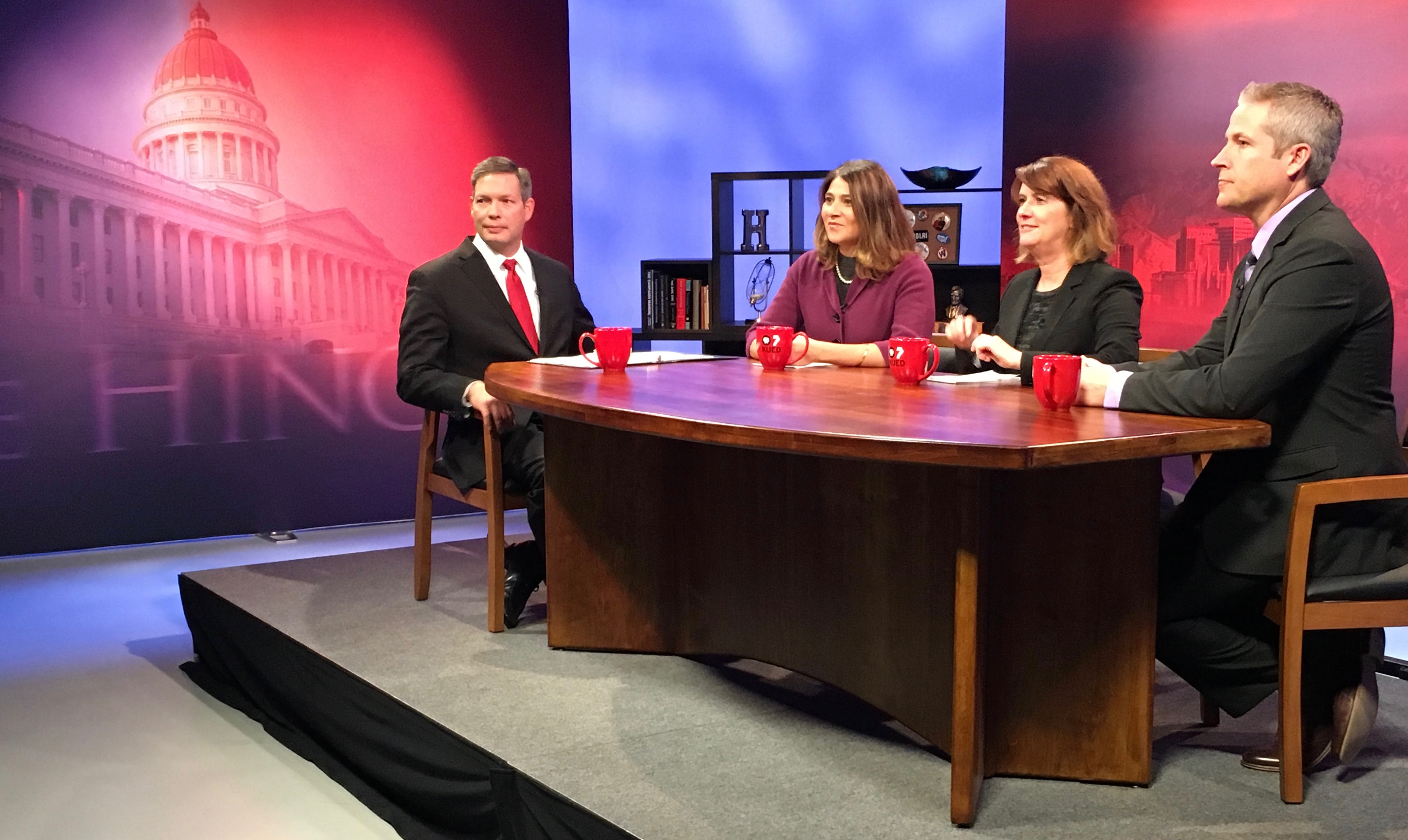 KUED and the Hinckley Institute of Politics have launched a weekly public affairs program that airs Friday nights at 7:30 p.m.